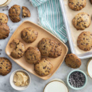 Gluten-Free Vegan Miso Chocolate Chip Cookies