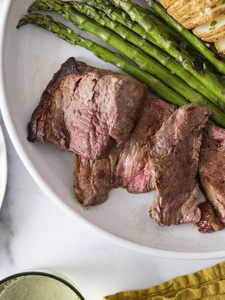 One Potato Pan-Seared Beef Tenderloin Recipe